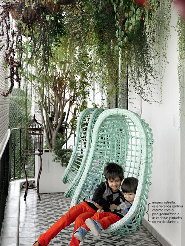 5. Hanging Chair