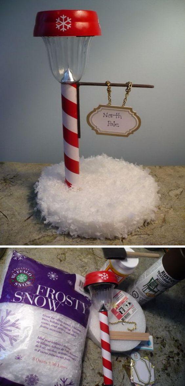6. Christmas Street Lamp