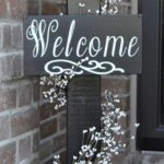 6. Classy Outdoor Signs
