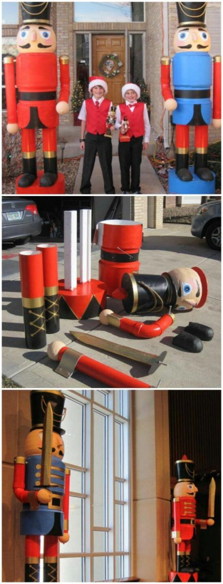 9. Giant Outdoor Nut Crackers