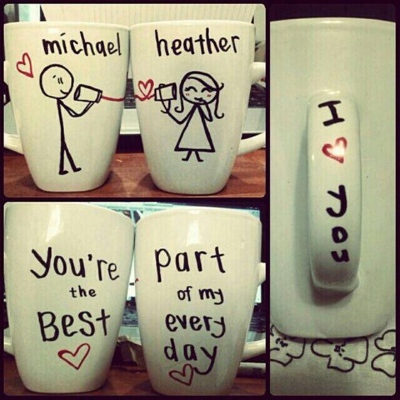 15. Matching Mugs