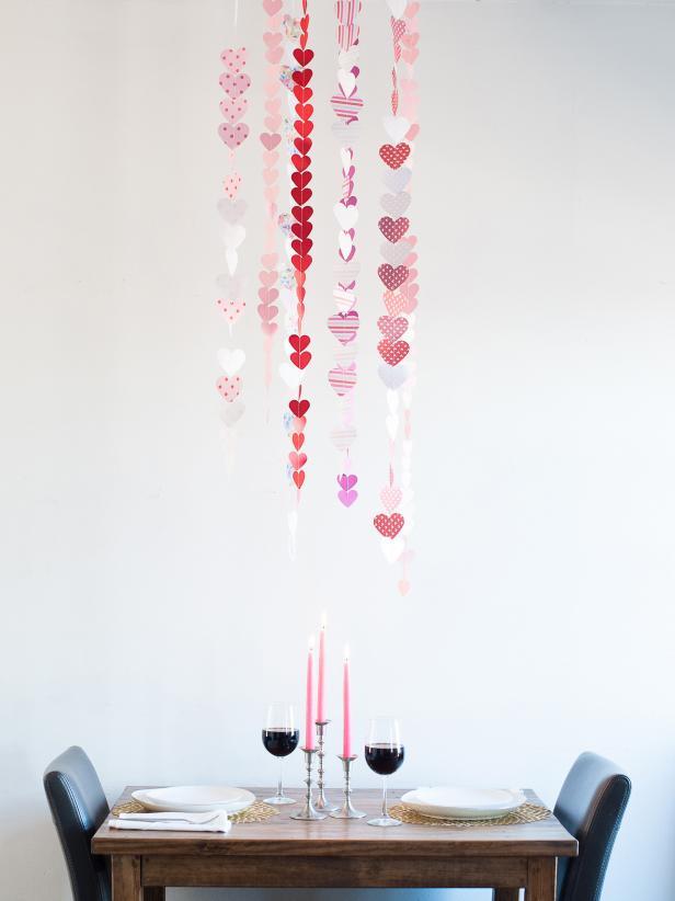 5. Heart Chandelier