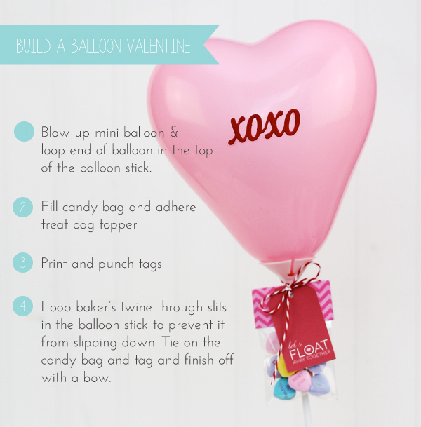 6. Build a Balloon Valentine