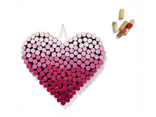 9. Heart of Wooden Corks