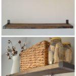 12. Simple Wall Shelves