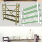 15. DIY Rustic BookShelf