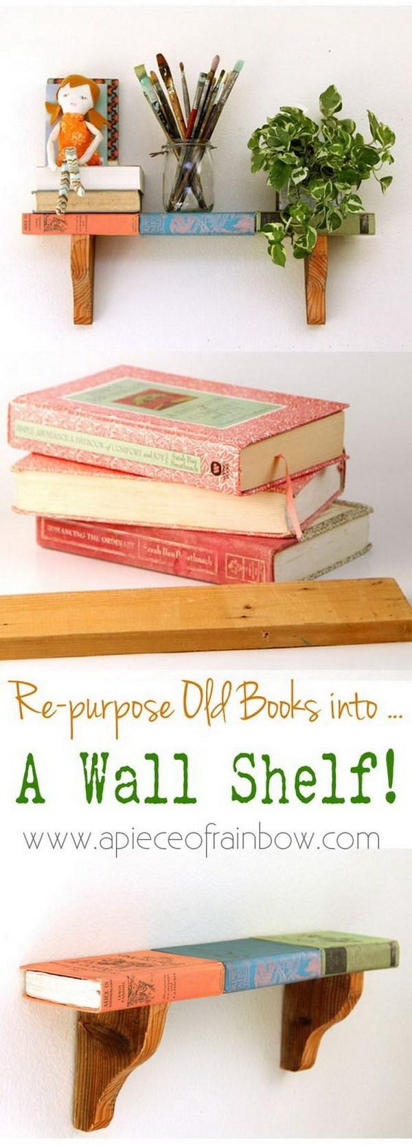 5. Re-purpose Wall Shelf