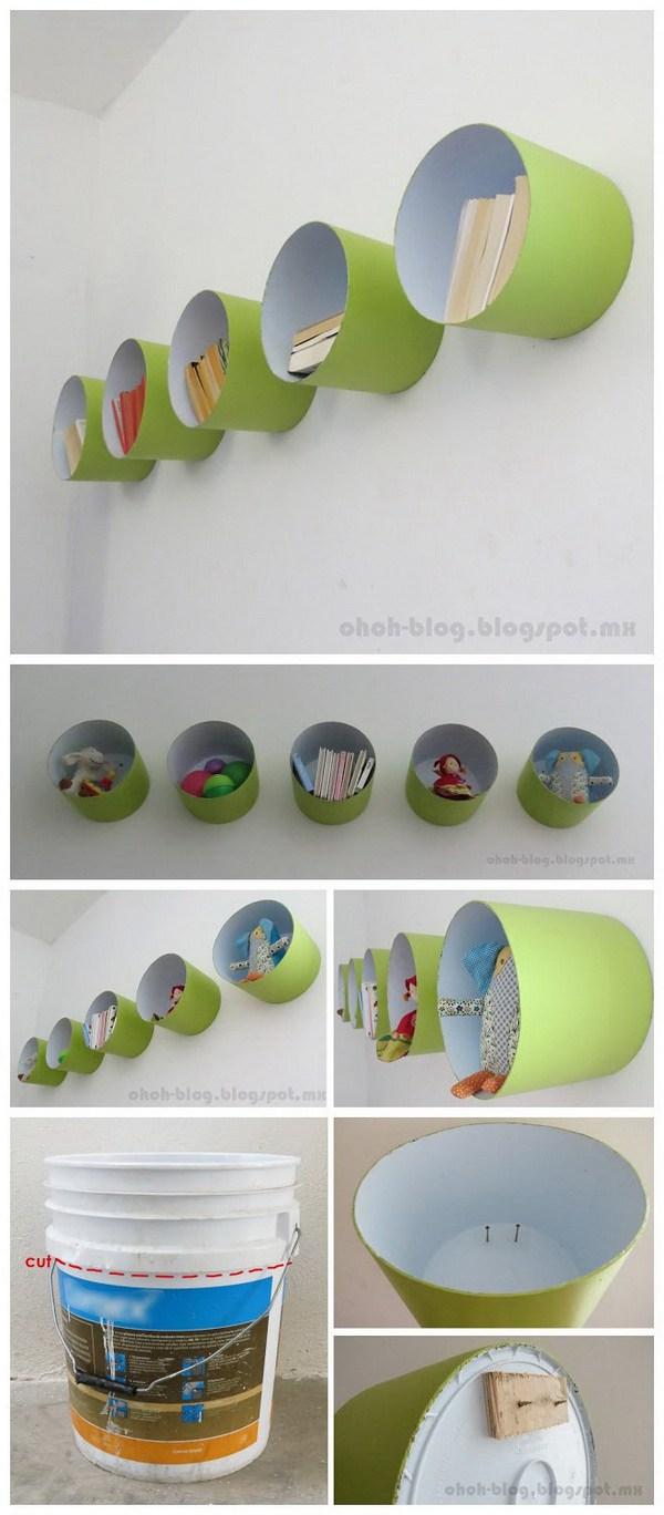 8. Cylinder Shelves