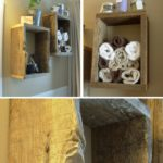 10. DIY Box Shelves