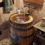 5. Barrel Sink Basin