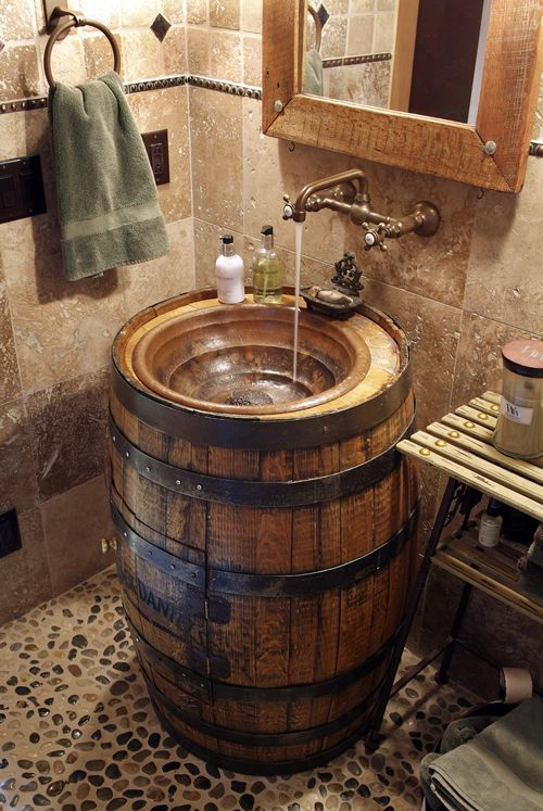 5. Barrel Sink Basin