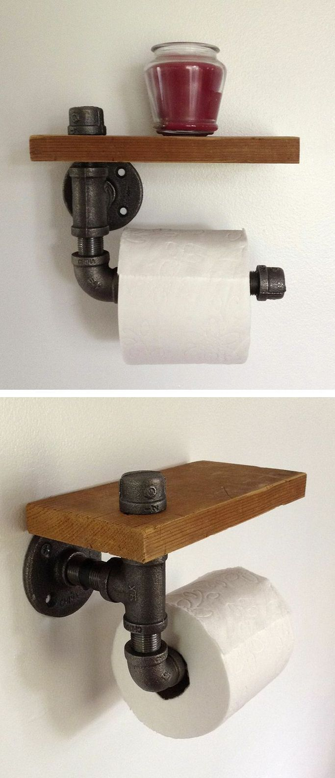 9. Pipe Tissue Holder