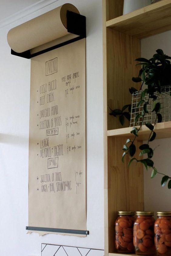12. Khaki Paper Roll