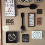 3. Utensils on Wall